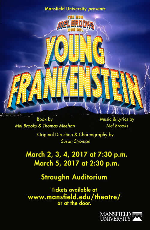 Order tickets now for YOUNG FRANKENSTEIN